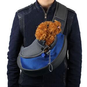 Pet Dog Cat  Mesh Puppy CarrierTravel Tote Shoulder Bag Chest Outdoor Backpack