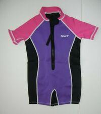 SPORTI Purple/Pink NEOPRENE WET SUIT Pool Swimming Beach Sz BABY 7/8 MONTHS Cute