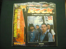 WOW STEVIE R.VAUGHAN LP RARO SIGILLATO by ROCK DE AGOSTINI 95+LIBRETTO U2