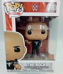 FIGURINE FUNKO POP Catch WWE WWF N° 78 THE ROCK
