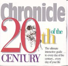 CHRONICLE OF THE 20TH CENTURY - PC CD ROM