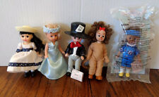 5 McDonald's Madame Alexander Collectible Doll Happy Meal Toys