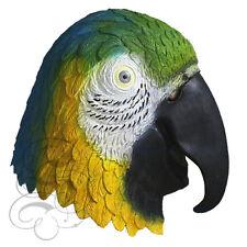 POPULAR látex Animal pájaro loro - Multicolor Disfraz Máscara de carnaval