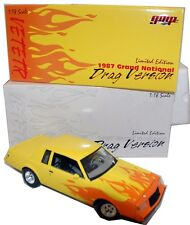 1:18 Buick Grand National DRAG Car 1987 Yellow + Flames GMP Exclusives yuk00