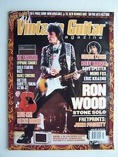 Vintage Guitar Magazine January 2011 Vol 25 No 03 Ron Wood Cover