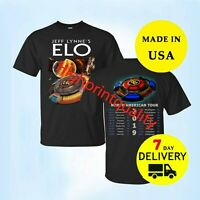 ELO Concert Tour 2019 Black t shirt All Size Men