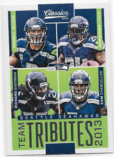 2016 Panini Classics Team Tributes #7 Seattle Seahawks - Russell Wilson+