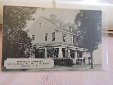 Rare 1930 ? Hotel Wooten's Hometel  Raleight NC North Carolina Post Card Route 1