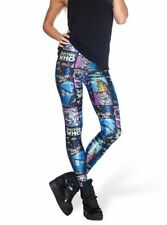 girl leggings Pants Doctor Who Tardis Cyberman Printed Women Legging La3587