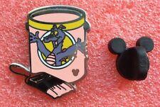 Pins DISNEY Pot De Peinture Personnage FIDGET LE DRAGON