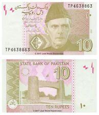 Pakistan 10 Rupees 2012 P-45g Banknotes UNC
