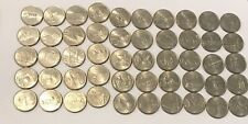 1999-2008 P Us State Quarters Complete Circulated Collectible Set of 50 coins