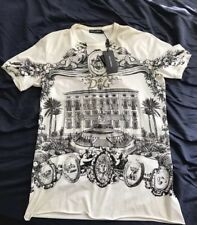 Dolce and Gabbana Jerseys Sicily Building Shirt Runway Collection