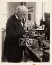THOMAS EDISON Invention Electricité Kinetographe Cinema Phonographe Photo 1920s