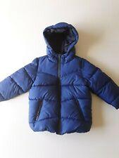 ZARA  BOYS Puffer Hooded Jacket  Size 5 Blue