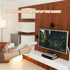 White Zapper Gun for Nintendo Wii Remote Nunchuck Controller Shooting Game New