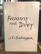 J.D. SALINGER  FRANNY AND ZOOEY  *FIRST EDITION* fine in dj 1961 first issue