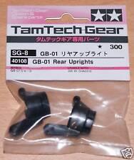 Tamiya 40108 GB-01 Rear Uprights (GT-01/GB-02), NIP