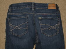 Aeropostale Size 1 / 2 Lola Cropped Jegging Factory Distressed Stretch Womens