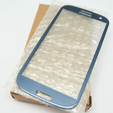 BRAND NEW OUTER GLASS LENS FOR SAMSUNG GALAXY S3 i9300 i747 #GS-07_BLUE