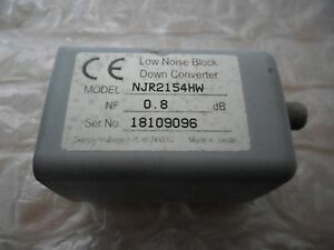 JRC Ku-band LNB Down Converter NJR2154HW RF 12.25-12.75GHz IF 950-1450MHz 15-24V