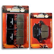 Suzuki F+R Brake Pads GSF 650 1250 Bandit 2007 2008 2009 2010 2011 2012 2013 >