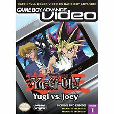 New GBA Video Yu-Gi-Oh! Yugi vs. Joey Volume 1
