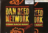 "DAN REED NETWORK come back baby/burnin' love POSTER BAG DRNPB 2 uk 7"" PS EX/EX"