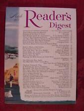 Reader's Digest March 1955 Ralph Bunche John Gunther ++