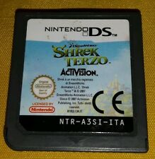 SHREK TERZO - Nintendo DS - NDS - Game Gioco Midway Dreamworks Activision