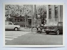 TRIESTE TRAM tramway vettura lambretta vecchia foto 24