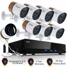 ELEC 8CH 1080P CCTV DVR 960H 1500TVL Outdoor Night Vision Security Camera System