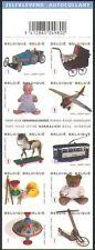 Belgium 2008 Toys/Tram/Teddy Bear/Doll/Racing Car/Plane/Horse 10v bklt (n34292)