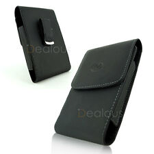Premium Leather Pouch Case Belt Clip Samsung Galaxy Note 8/9 Fit w/ Bulky Case