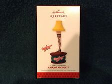 "2013 HALLMARK "" A Major Accident? "" .....A Christmas Story  Ornament NEW"
