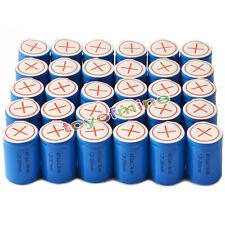 30x Ni-Mh 4/5 SubC Sub C 1.2V 2800mAh Batería recargable con Tab Azul