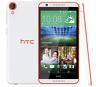 """Débloqué Téléphone 5.5"""" HTC Desire 820 Dual SIM 13MP 16GB LTE - Blanc and Orange"""