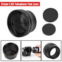 37mm 2.0X Universal Telephoto Converter Lens for most 37mm Mount Digital Camera