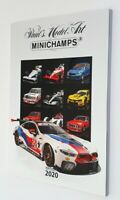 Minichamps A4 Fully Illustrated 2020 Edition 1 Colour Catalogue 195 Pages