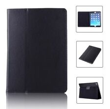 BLACK Magnetic Case Flip Thin Leather Stand Cover For Apple iPad 6 Gen 9.7 NEW