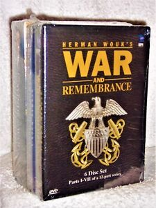 War and Remembrance & Winds Of War: The Complete Series (DVD, 2008, 18-Disc Set)