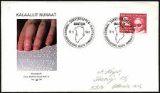 Greenland 1983 Welfare Of The Blind FDC First Day Cover #C41420