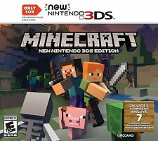 Minecraft: NEW Nintendo 3DS Edition [NN3DS, NTSC, Mojang, Build Explore Create]