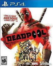 Deadpool - Sony PlayStation 4 PS4 Video Game SEALED