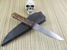 Steve Hill Knives Custom Handmade Period Dirk O1 Blade Silver wire Inlay handle