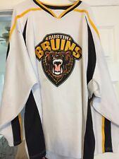 2010-12 Nahl Charlie Adams Austin Bruins Game Worn Hockey Jersey