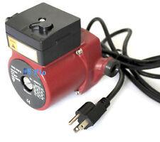 2X 3/4'' Circulator Pump 115V Hot Water Circulation Pump For Solar Heater System