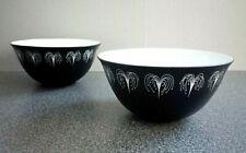 2 Hazel Thumpston Domino Sugar Bowls