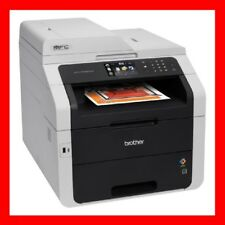 Brother MFC-9340CDW Printer w/ NEW Toners & NEW Drums -- REFURBISHED !!!