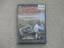 SPORTING FLY - I WANT TO LEARN TO FLY FISH - DVD - FISHING WITH DAVE LONG